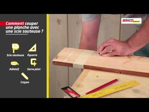 Comment Couper Une Planche Avec Une Scie Sauteuse