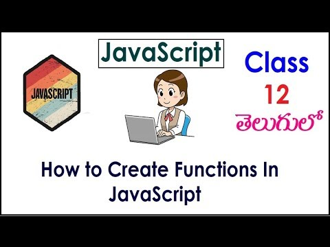 How to Create Functions In JavaScript Videos In Telugu 12 IJavaScript Tutorials IJavaScriptFunctions thumbnail
