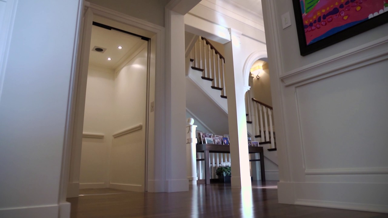 Eclipse Residential Elevator with Automatic Slim Doors | Montreal