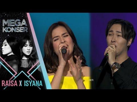 Raisa feat Kim ji Hoon Terjebak Nostalgia  Mega Konser Raisa X Isyana 2017
