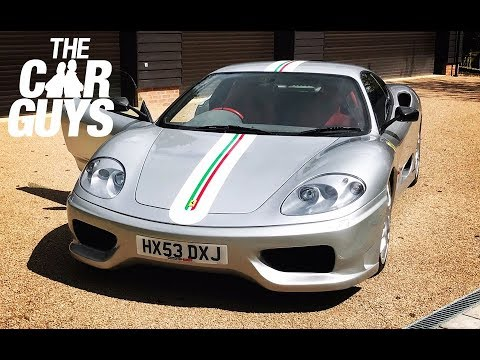 Ferrari 360 Challenge Stradale Review - why it's the GREATEST