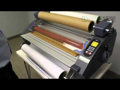 Laminating Series - How To Laminate A Decal (3/6)