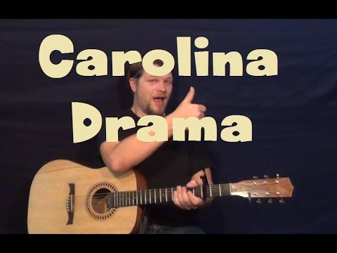 Carolina Drama (The Raconteurs) Easy Strum Guitar Lesson How to Play Tutorial