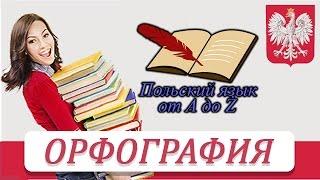 Польский язык от А ДО Ż - Орфография (2 урок)