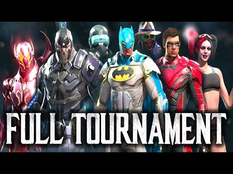 Injustice 2: Battle Royale 2017 - Full Tournament! [TOP4 + Finals]