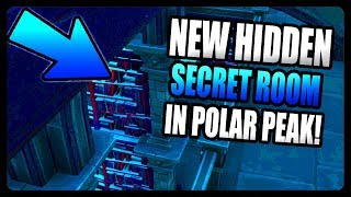 NEW SECRET UNDERGROUND ROOM IN POLAR PEAK! (FORTNITE SEASON 7)