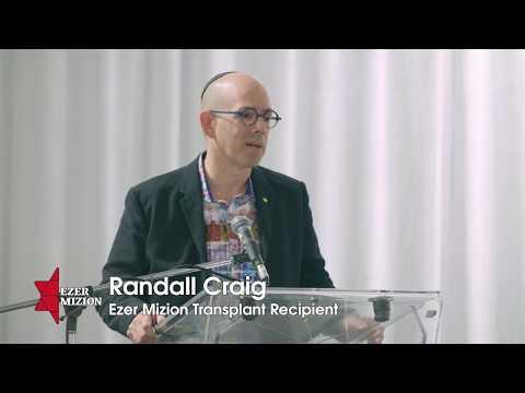 Randall Craig Meets His Donor