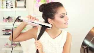 How to Straighten Y๐ur Hair with a Hair Straightener / Flat Iron