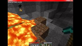 minecraft how to find caves diamond iron coal and gold
