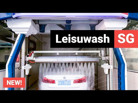 NEW! Leisuwash SG Automatic Touchless Car Wash Equipment