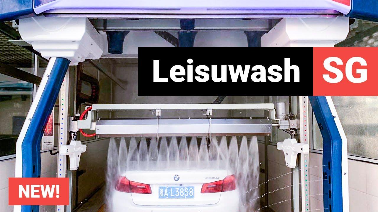 New Leisuwash Sg Automatic Touchless Car Wash Equipment Youtube