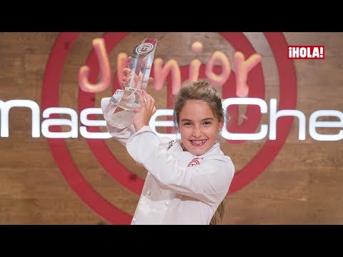 Entrevistamos a Esther, ganadora de MasterChef Junior 5