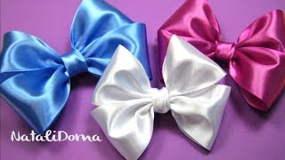 Repeat youtube video How To Make a Hair Bow / Как сделать БАНТ ДЛЯ ВОЛОС /✿ NataliDoma