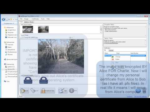 pkiImage Free - Any Image Encryption Software (JPEG, PNG, BMP, GIF and etc) for free from YouTube · Duration:  3 minutes 42 seconds