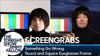 Screengrabs: Something Go Wrong, Round and Square Eyeglasses Frame