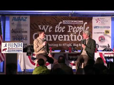 Sam Waterston- breakfast - We The People Convention 2-6-16