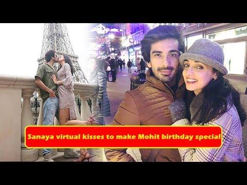 Sanaya Irani's virtual kisses to make Mohit Sehgal's birthday even special