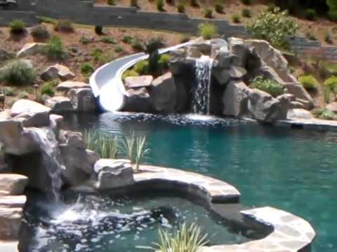 Dolphin Waterslides Custom Fiberglass Water Slides For In