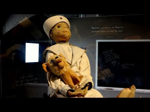 Robert the Doll and Elena Hoyos - The Cursed Dolls of Key West
