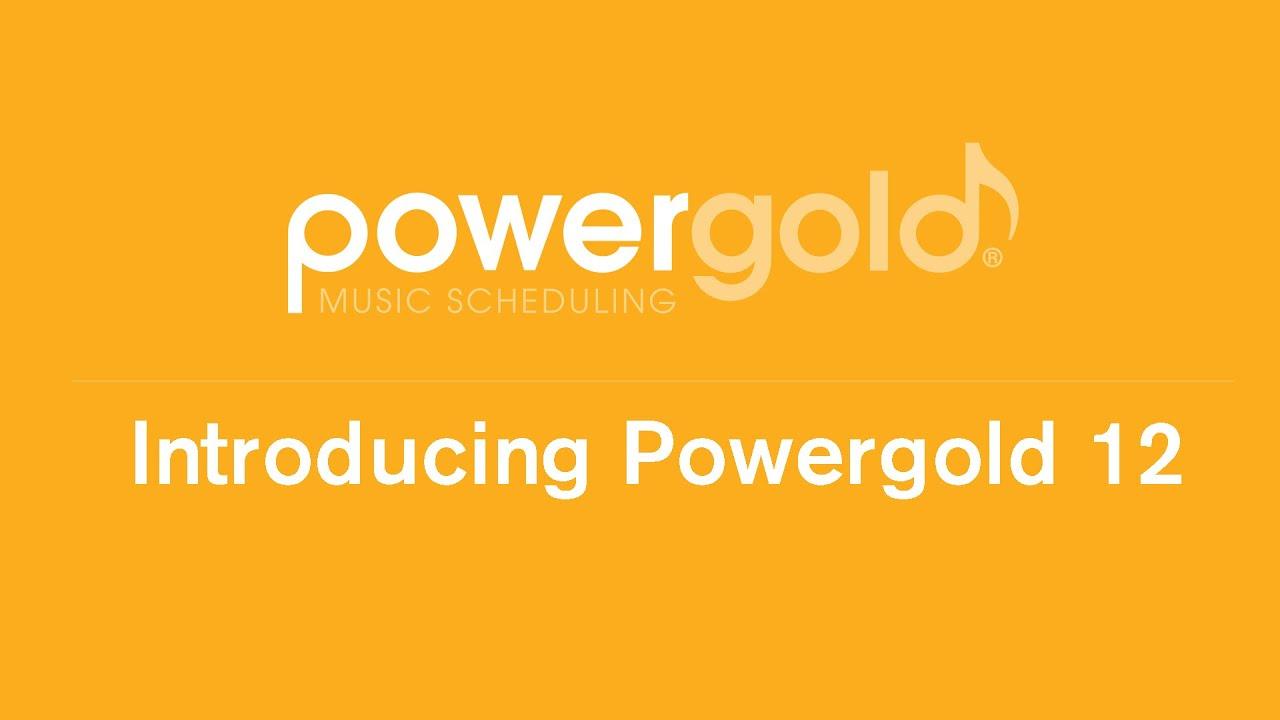 Powergold | Music Scheduling Software