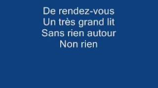 Elisa Tovati ft. Tom Dice - Il nous faut with Lyrics