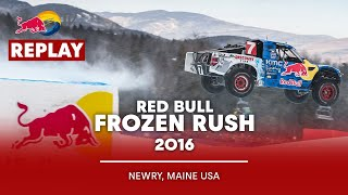 Red Bull Frozen Rush 2016 I Live Look Back