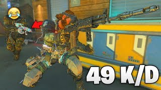 SPAM R1 with this SHOTGUN! (Black Ops 4 BEST Rampage Class)