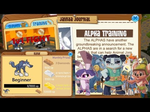 If You Could Go To Alpha Training In Animal Jam