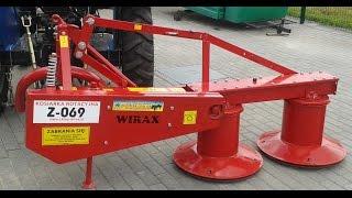 Купити Косарка роторна /Польща, Wirax/ minitrak.com.ua