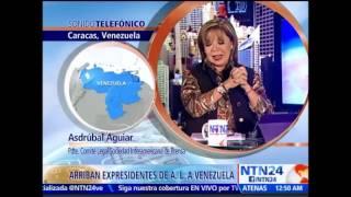 Ex Presidentes retenidos en aeropuerto venezolano fueron liberados tras una hora y 45 minutos