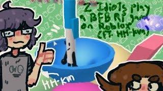 2 jogando um jogo BFB RP em Roblox (feat. HH-kun)