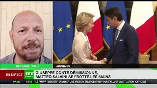 Démission de Guiseppe Conte : l'avis de Matteo Ghisalberti