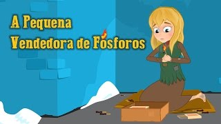 A Pequena Vendedora de Fósforos - Historia completa - Desenho animado infantil com Os Amiguinhos thumbnail