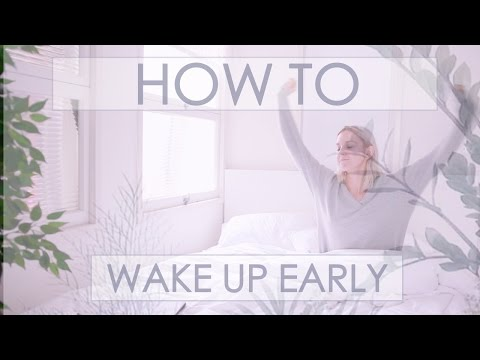 How to Wake up at 5am Everyday | #MOREPRODUCTIVITY