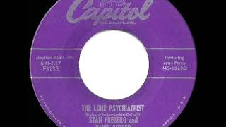 1955 Stan Freberg - The Lone Psychiatrist (with Daws Butler and June Foray)