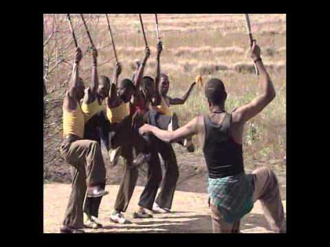 Song & dance by Basotho men of Lesotho