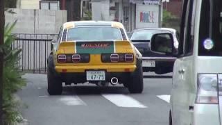 マツダ RX-3 ロータリーサウンド LOUD Mazda RX-3 マツダ・サバンナ Sav...
