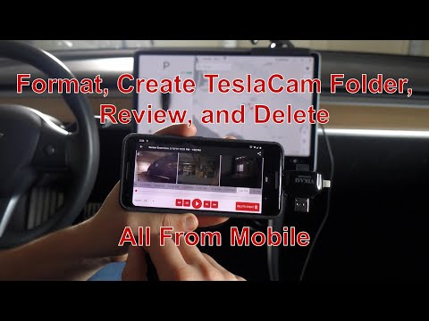 Managing TeslaCam And Sentry Video From Mobile