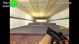 Counter-Strike 1.6 MP5 and UMP accuracy exploit