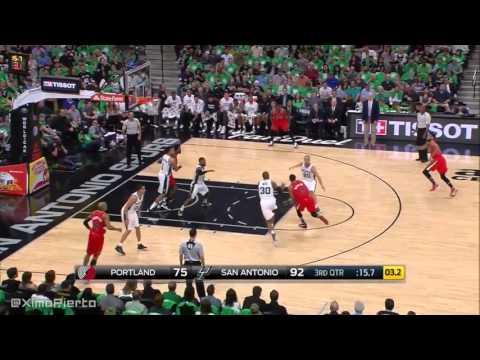 Portland Trail Blazers vs San Antonio Spurs - Full Game Highlights | March 17, 2016 | NBA