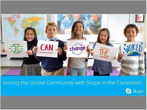 Skype in the Classroom: A Global Community of Educators and Learners