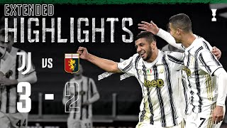 Juventus 3-2 Genoa  Rafia Debut Winner in Extra Time  EXTENDED Highlights