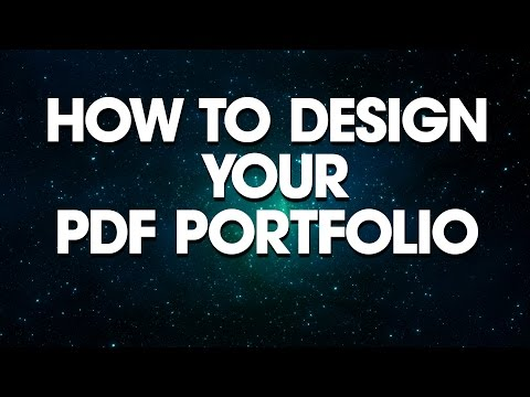 Graphic Design: How To Design Your PDF Portfolio