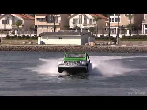 WaterCar Panther - Amphibious Jeep