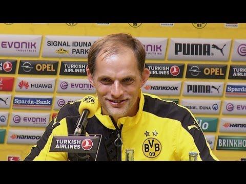 Pressekonferenz: Tuchel erfreut über emotionalen Schlusspunkt | BVB - Hertha BSC 3:1