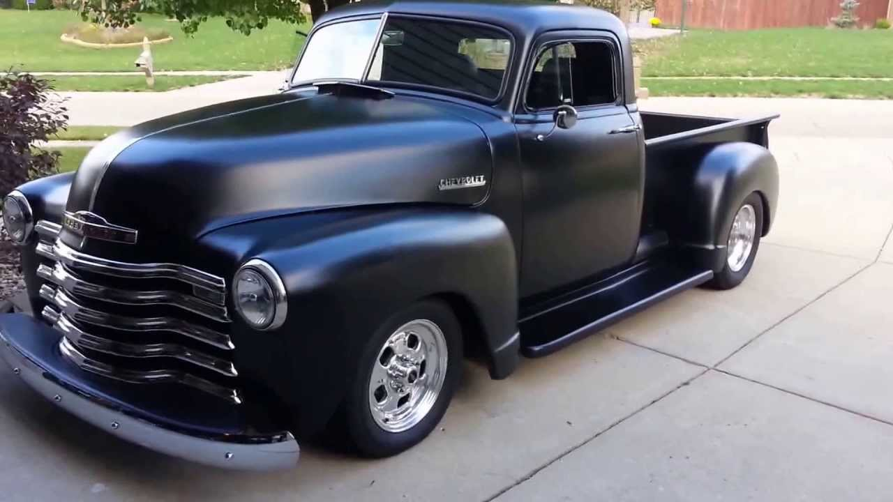 1947 Chevy Truck - YouTube