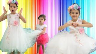سوار سوف تذهب إلى حفلة الأميرات | سوار قررت تتزوج |  вышла замуж | sewar dresses the wedding dress