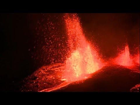 La Réunion: éruption la nuit du Piton de la Fournaise