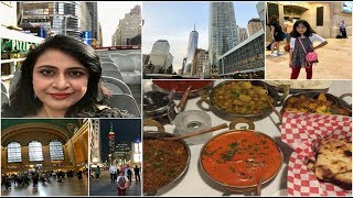 new york city vlog a day in my life   exploring indian food   simple living wise thinking