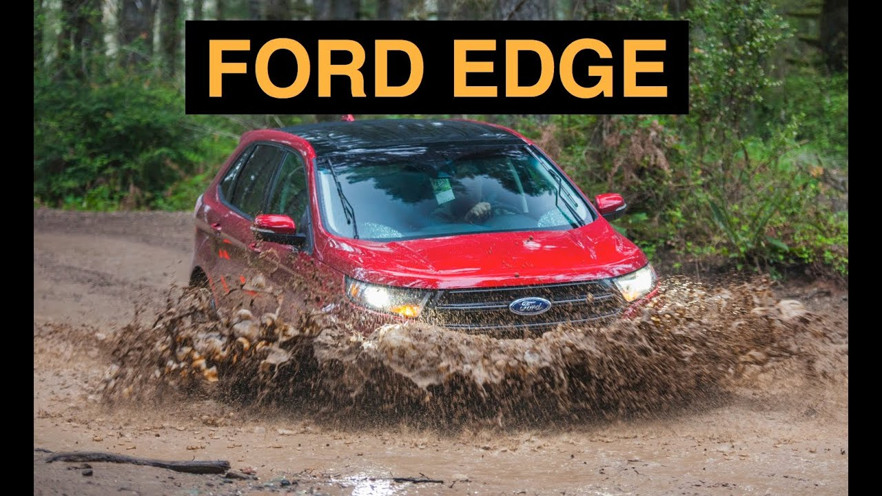 2015 Ford Edge Sport Awd Off Road And Track Review Youtube